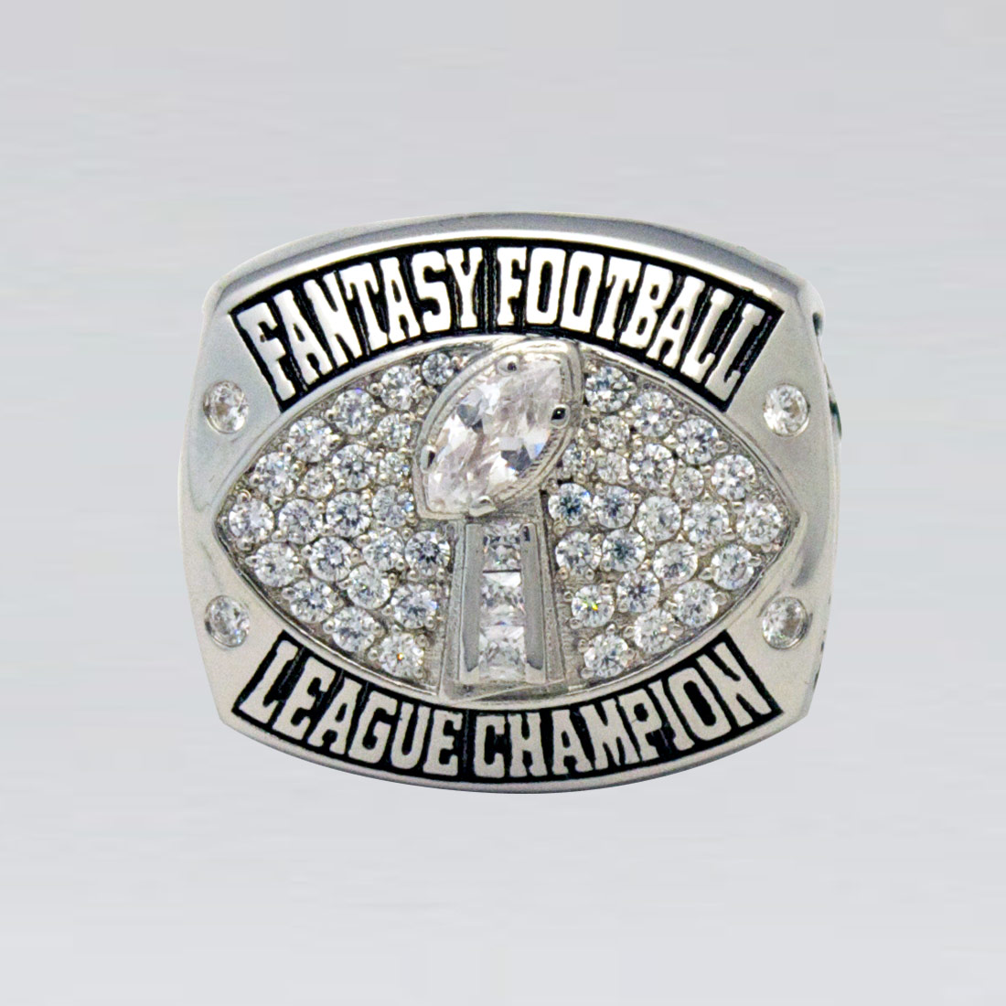 187 Fantasy Football Championship Ring Personalized