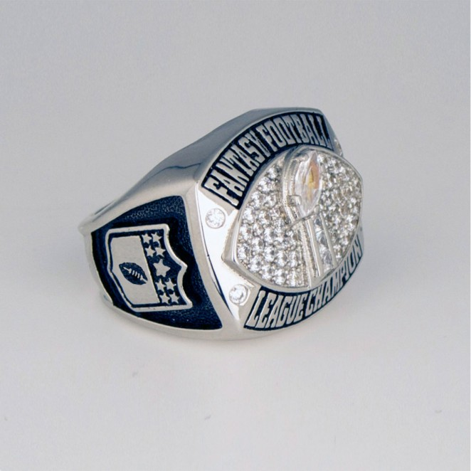 Fantasy Football Championship Ring Left side