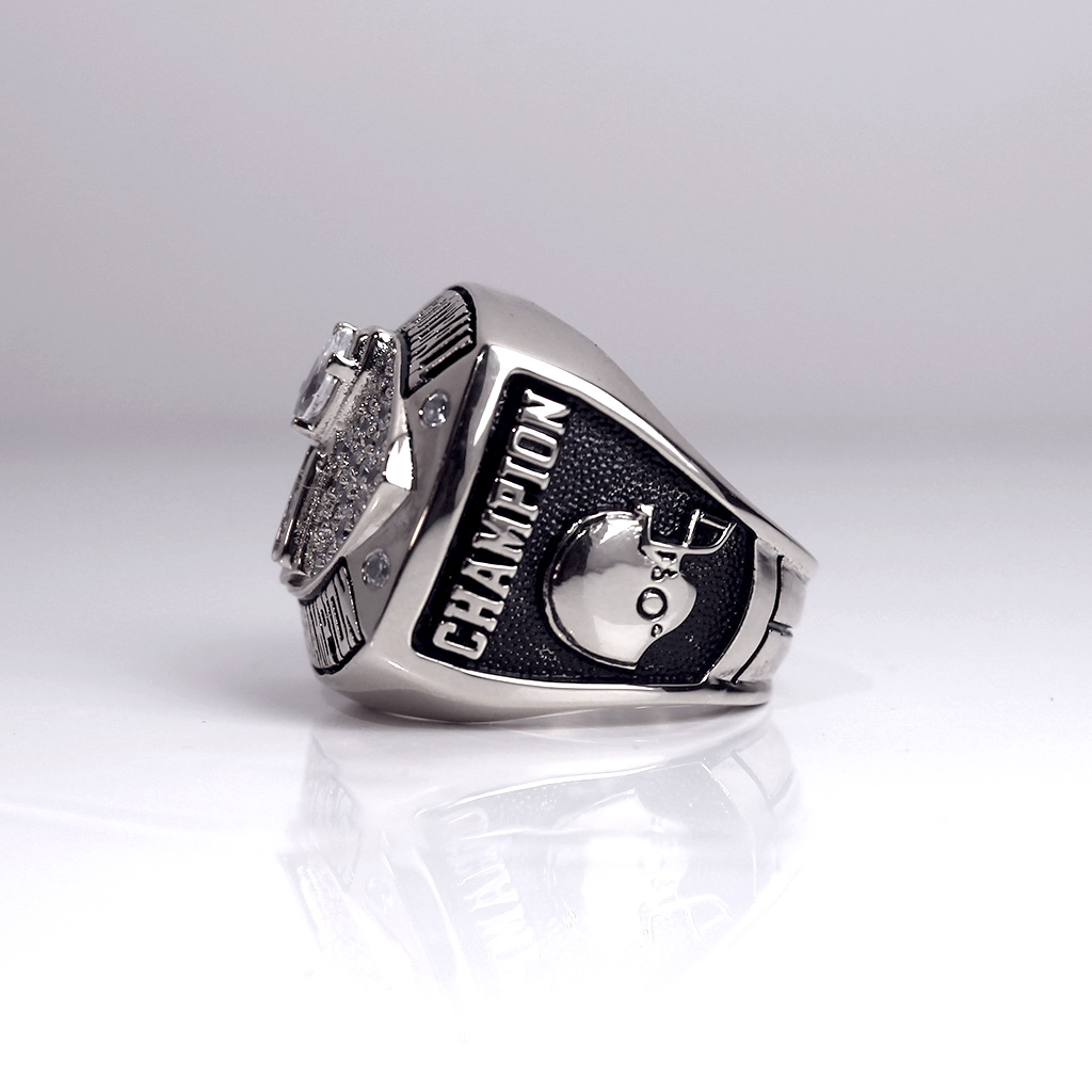 "The right side of this ring let's everyone know who's ""CHAMPION""."